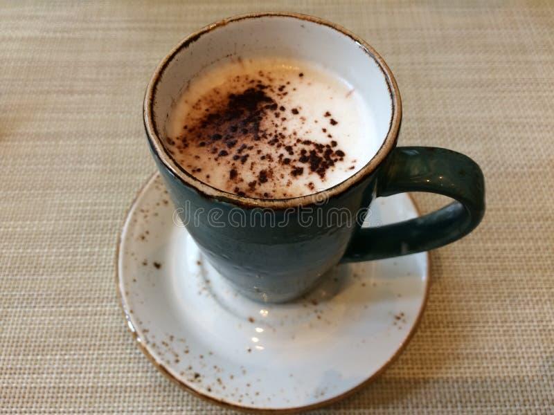 Cuvette de café blanc photographie stock