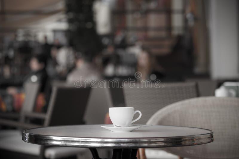 Cuvette de café blanche photographie stock