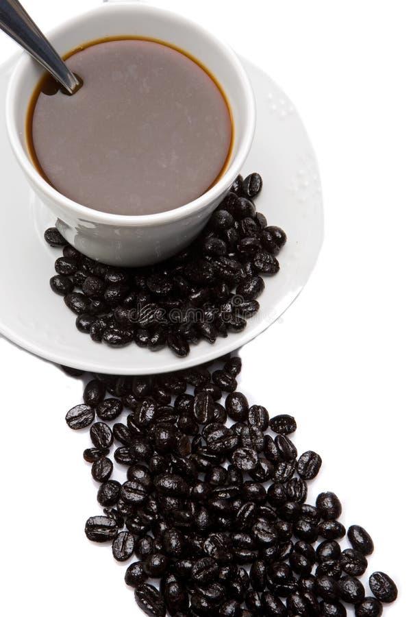 Cuvette de café d'expresso images stock