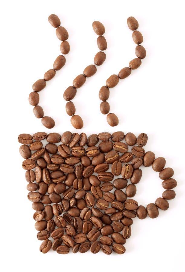 cuvette de café d'haricot photo libre de droits