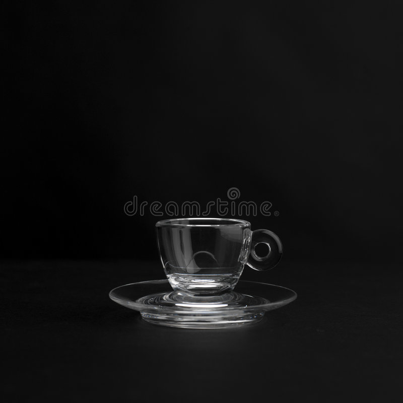 Cuvette de café express photo libre de droits