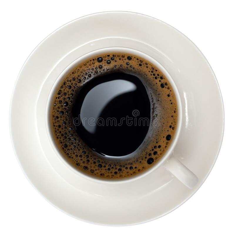 Cuvette de café noir photos libres de droits