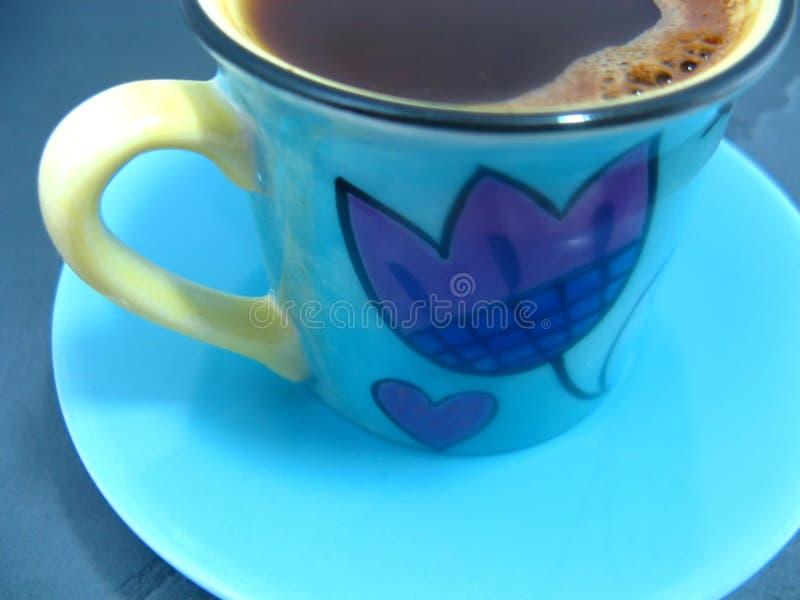 cuvette de café proche vers le haut photographie stock libre de droits