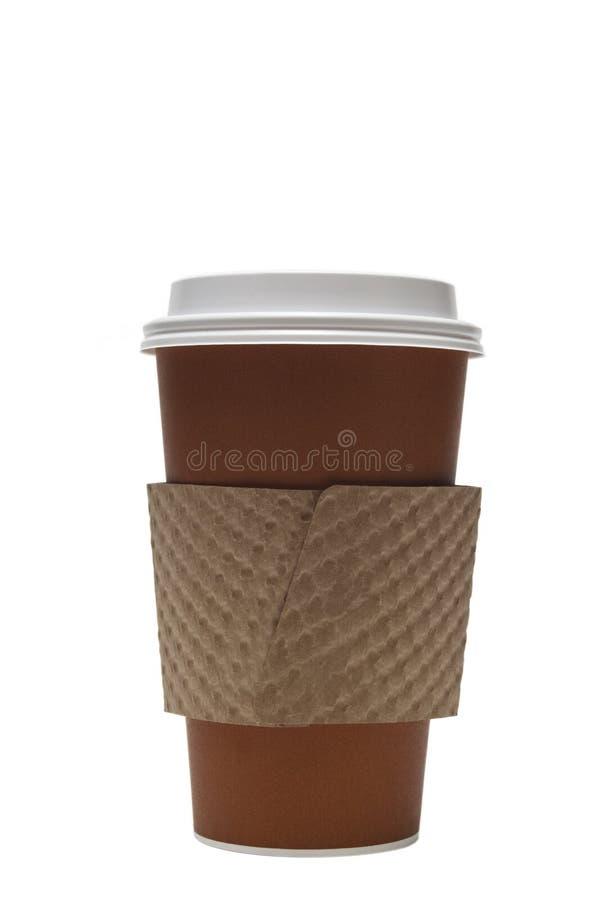 Cuvette de café remplaçable photo stock