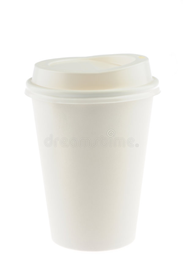 cuvette de café remplaçable image libre de droits