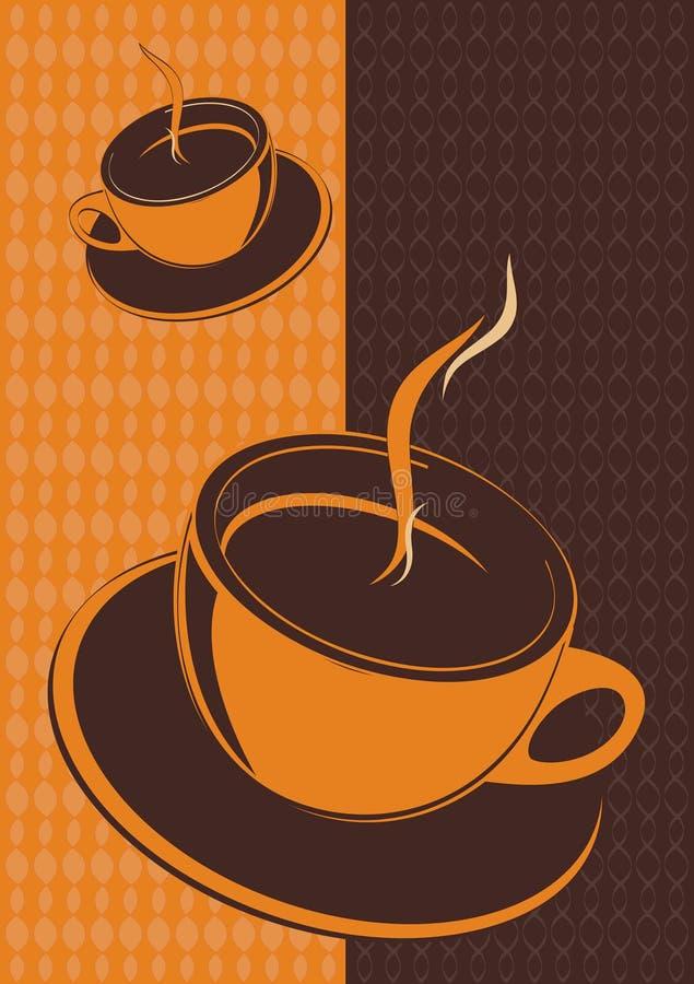 Cuvette de café, vecteur illustration stock