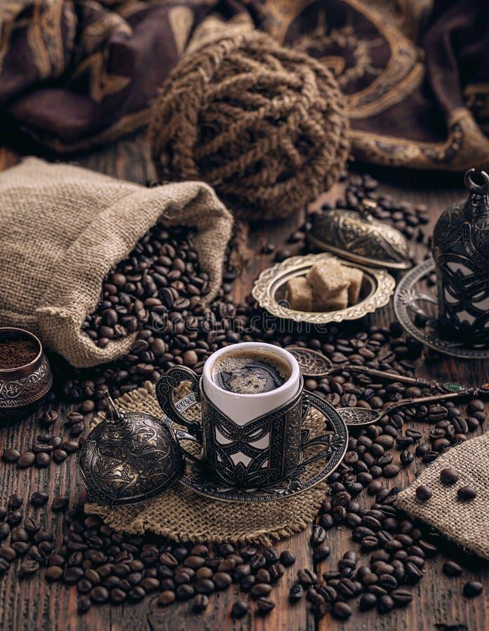 Cuvette de caf? turc image stock