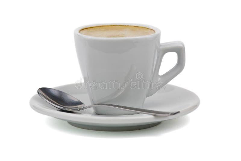 Cuvette de coffe noir photographie stock libre de droits