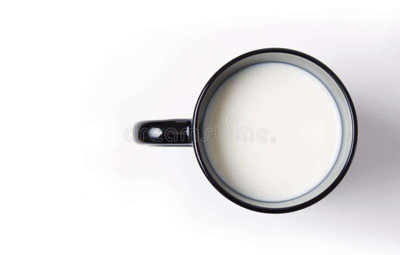 Cuvette de lait images stock