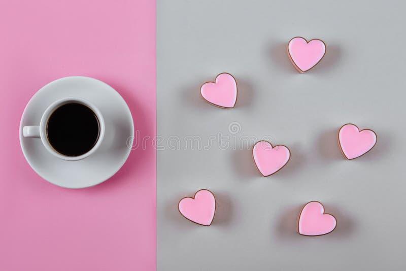 Cuvette de matin de café photos stock