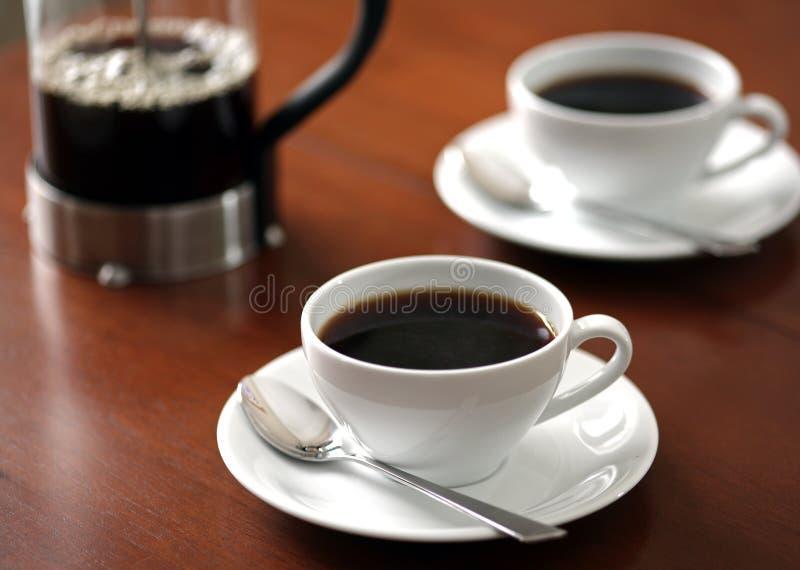 Cuvette de matin de café image libre de droits