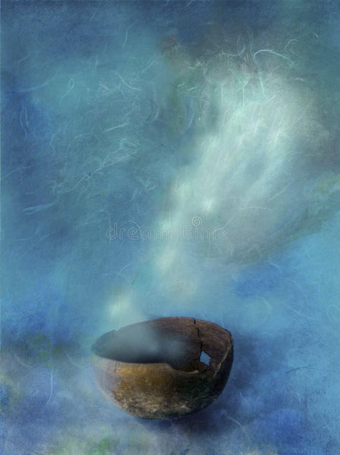 Cuvette de Shamans illustration libre de droits