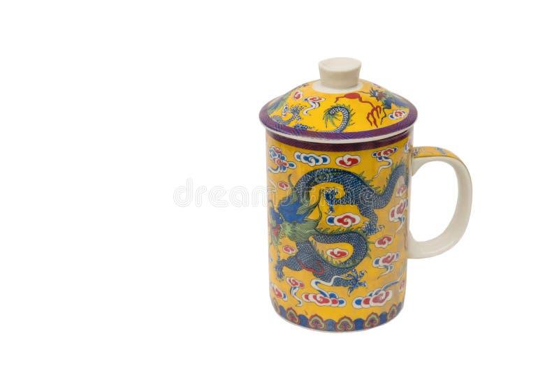 Cuvette de thé antique images libres de droits