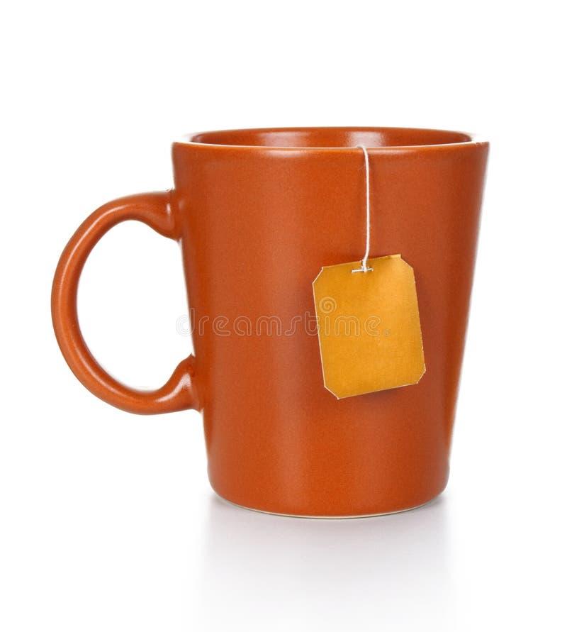 Cuvette de thé d'isolement photo libre de droits
