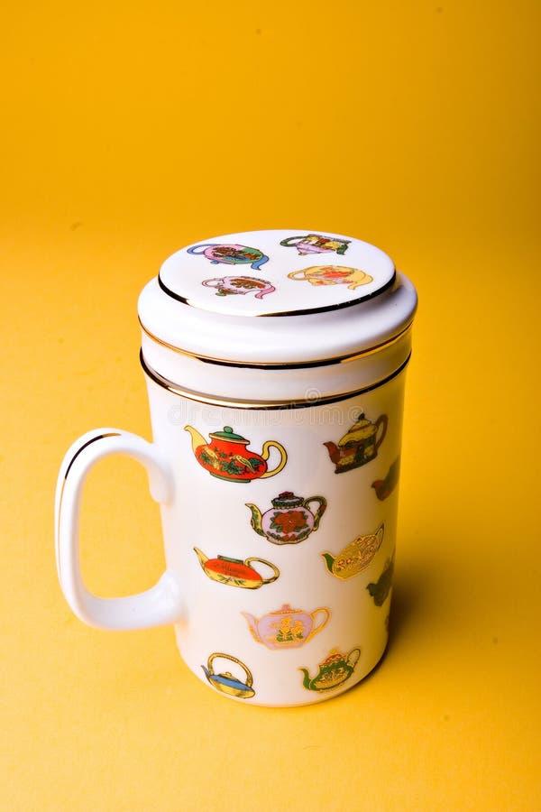 Cuvette de thé orientale photo stock