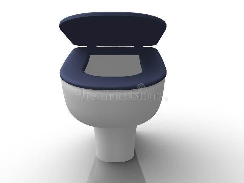 Cuvette de toilette illustration de vecteur