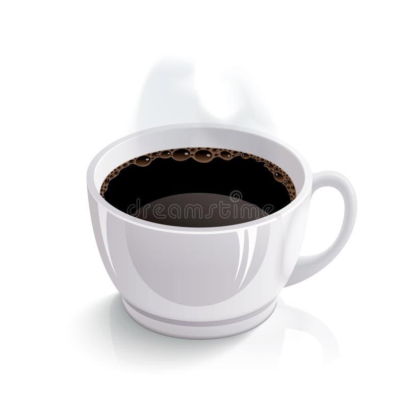 Cuvette de vecteur de café illustration stock