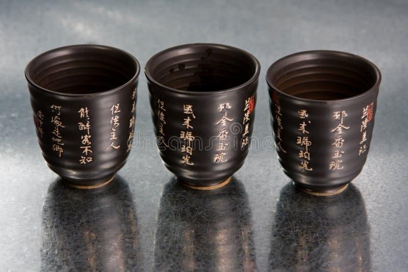 Cuvettes de la Chine photos stock