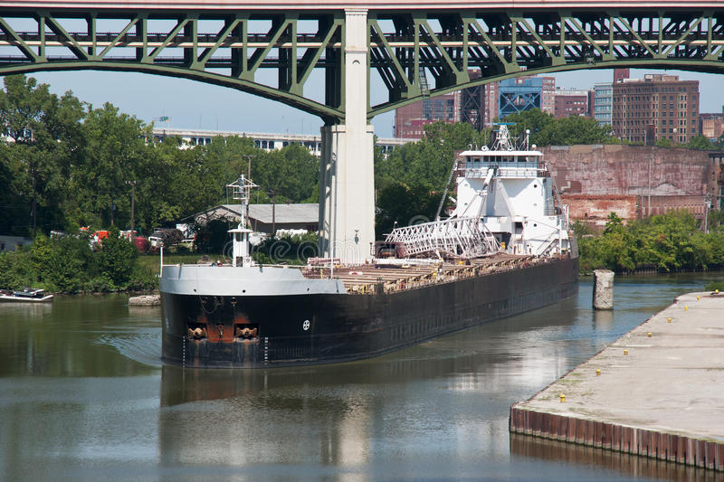 Download On The Cuyahoga River Stock Photo - Image: 83709574