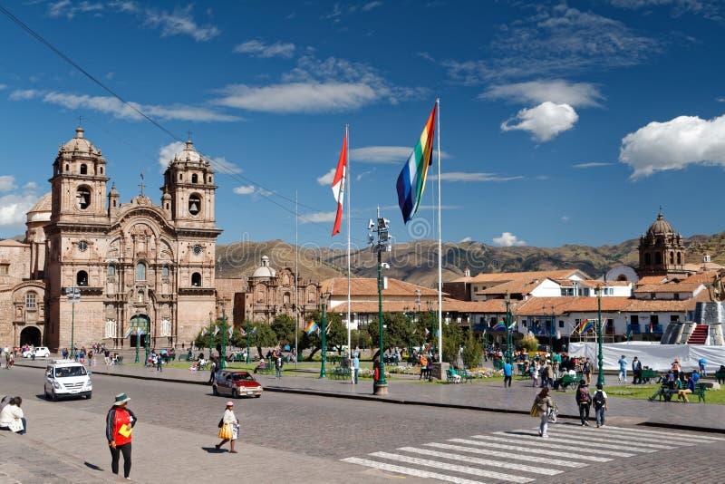 Cuzco - бывшая столица империи 4 Inca стоковые изображения rf