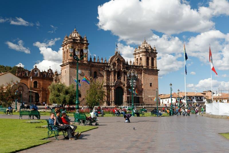Cuzco - бывшая столица империи 6 Inca стоковые изображения rf