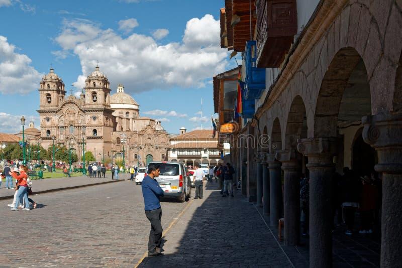 Cuzco - бывшая столица империи 8 Inca стоковая фотография rf
