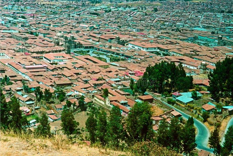 cuzco Перу стоковое изображение