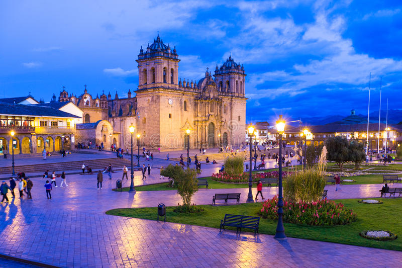 cuzco image libre de droits