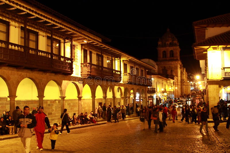 CUZCO AU PÉROU photo stock