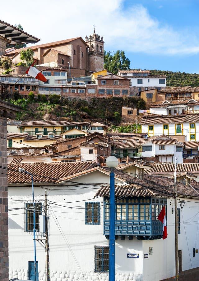 Cuzco au Pérou images libres de droits