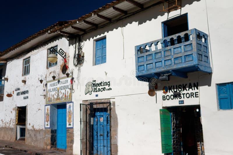 Cuzco - a capital anterior do império 11 do Inca imagens de stock royalty free