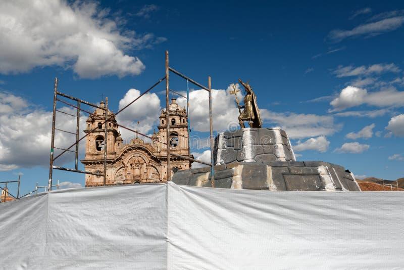 Cuzco - a capital anterior do império 14 do Inca fotos de stock