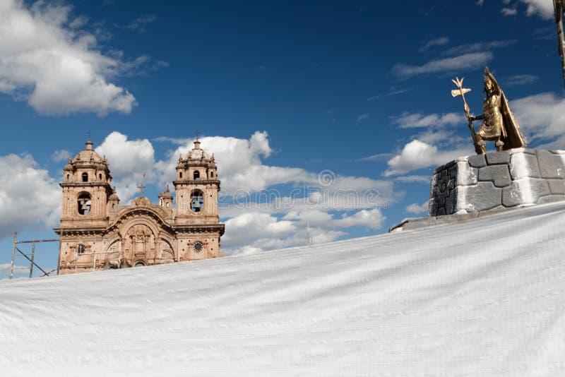 Cuzco - a capital anterior do império 15 do Inca fotografia de stock royalty free