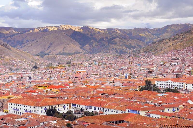 Cuzco centrum miasta obraz royalty free