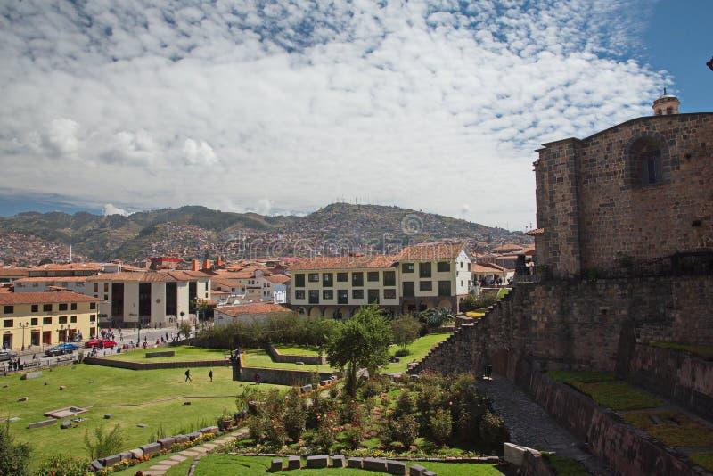 Cuzco Cusco Перу стоковое фото rf