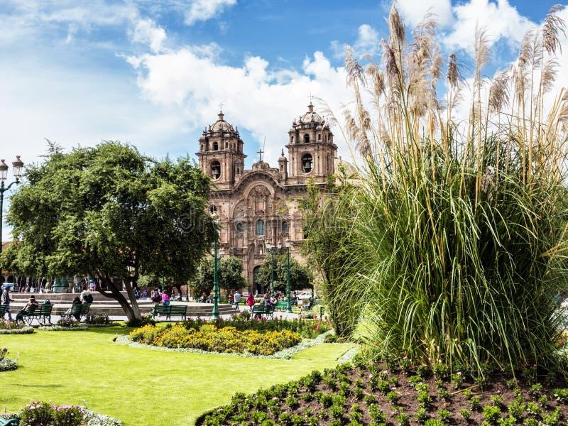 Cuzco, de hoofdstad van Incas, Peru stock afbeeldingen