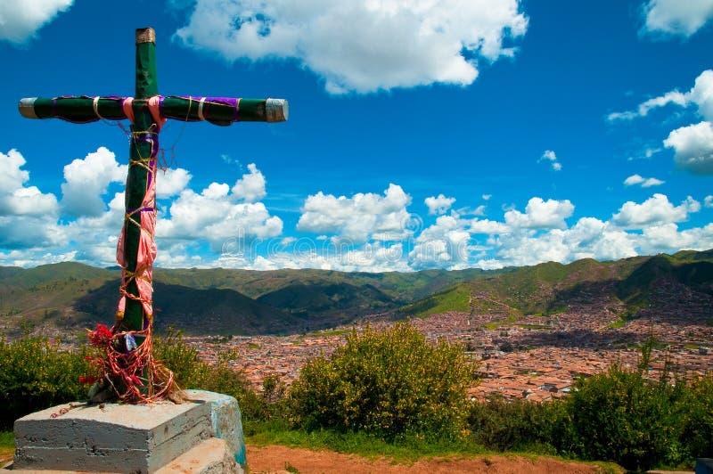 Cuzco de négligence images libres de droits