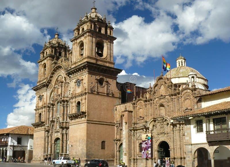Cuzco - de oude hoofdstad van Peru. royalty-vrije stock afbeelding