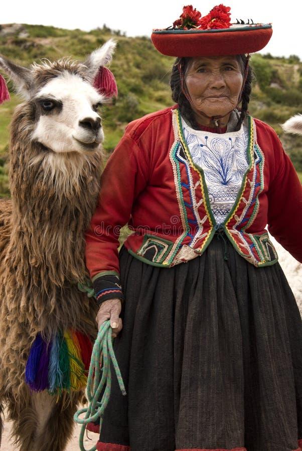 Cuzco en Perú fotos de archivo