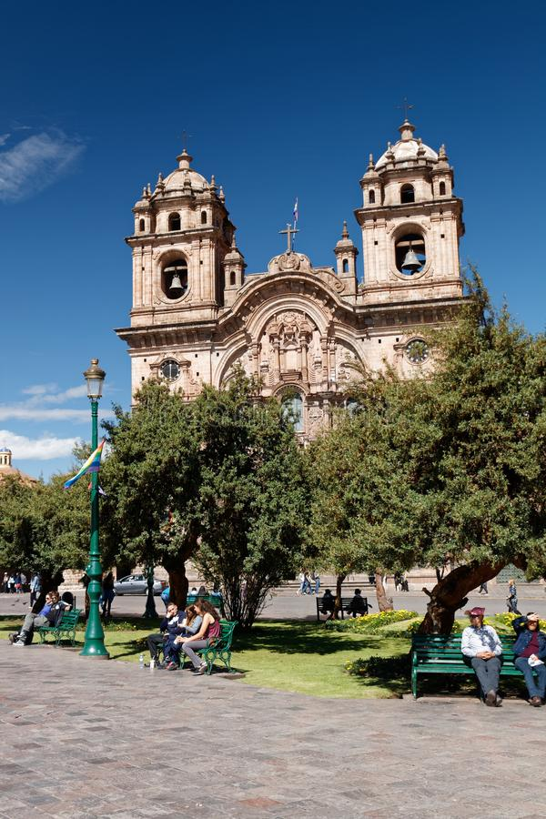 Cuzco - la capital anterior del imperio 3 del inca imagenes de archivo