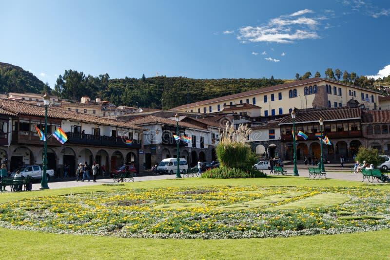Cuzco - la capital anterior del imperio 1 del inca imágenes de archivo libres de regalías