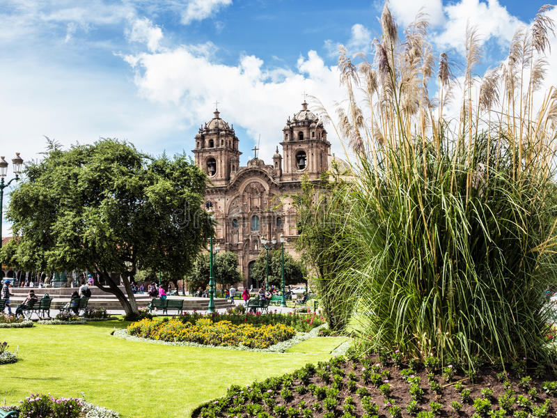 Cuzco, la capitale des Inca, Pérou images stock