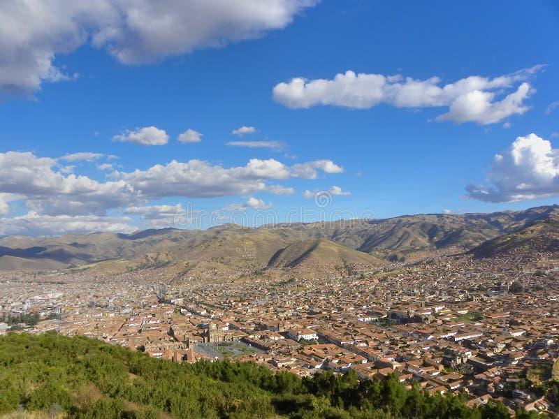 Cuzco - le capital antique du Pérou. photos libres de droits