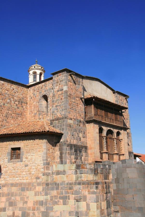 Cuzco, le capital antique du Pérou photos stock