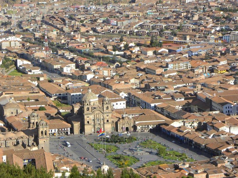 Cuzco - o capital antigo de Peru. fotos de stock royalty free