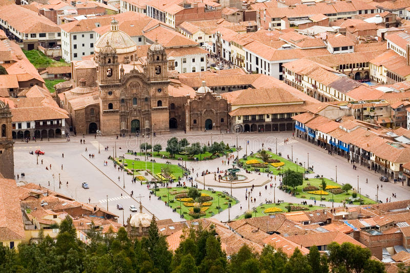Cuzco, Perù fotografie stock libere da diritti