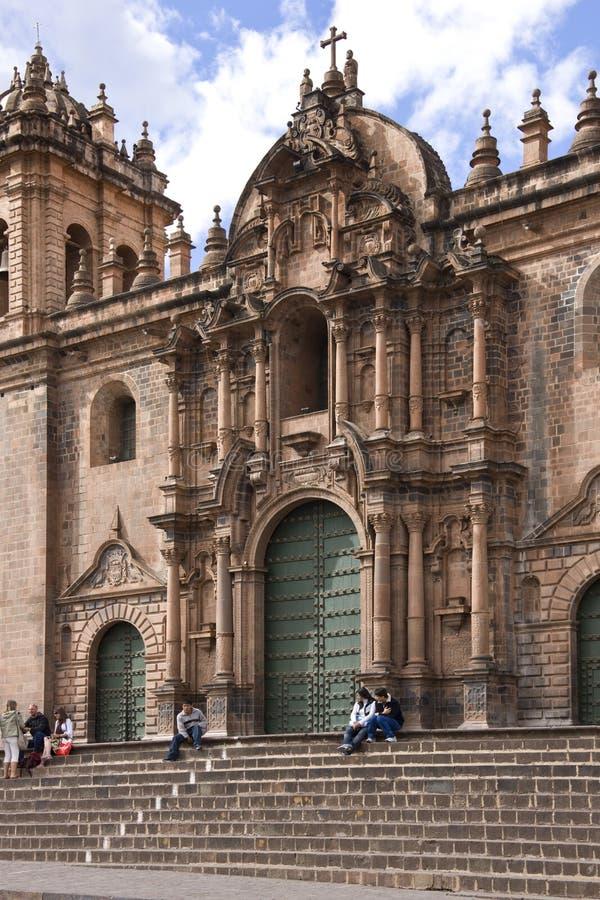Cuzco - Peru royaltyfri bild