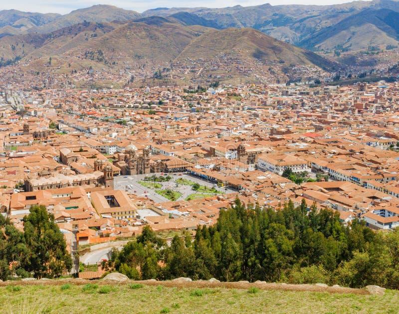 cuzco Peru obrazy royalty free