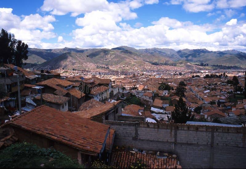 cuzco peru royaltyfria foton