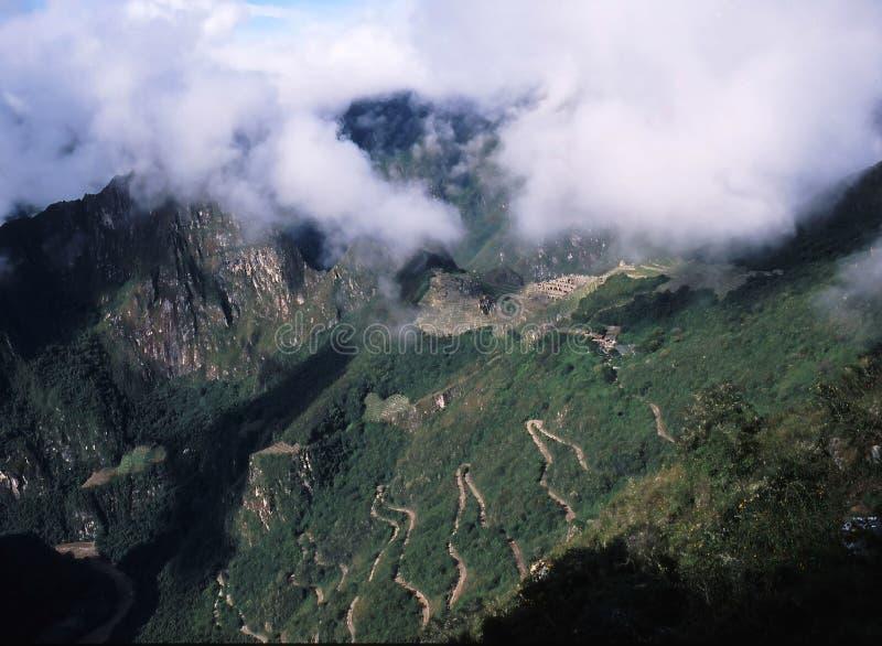 cuzco peru arkivbilder